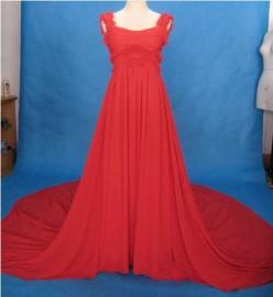 Elegant Empire Quality Chiffon Overlay Formal / Bridesmaid Dress (LB-F03)