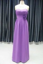 Elegant Quality Chiffon Strapless Sweetheart Formal / Evening Dress (LB-F08)