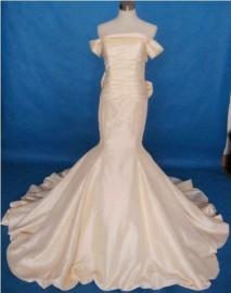 Elegant Trumpet / Mermaid Quality Taffeta Strapless Wedding Dress or Formal Dress (LB-W05)