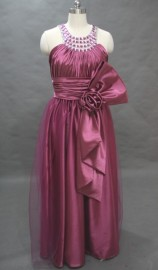 Elegant Formal / Evening / Mother of the Bride Dress with Stunning Neckline (LB2353)