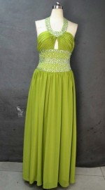Elegant Chiffon Overlay Formal / Evening / Mother of the Bride Dress with Stunning Beadworks (LB2378)
