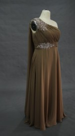 Elegant Quality Chiffon Formal / Mother of the Bride Dress (LBBR1001)