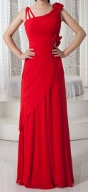 Modern Stylish Quality Chiffon Overlay Formal Dress (LBF-22)