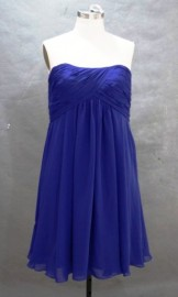 Charming Strapless Empire Knee Length Cocktail / Formal Dress For All Sizes and Maternity Design (LBFSH0145)